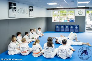 Jiu jitsu for Children Sheffield